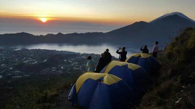 mount batur camping tours